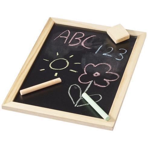 Recess 6-delars set med färgkritor och suddgummi