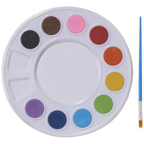 Splash-set med vattenfärger