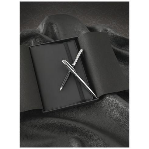 Aria presentset med anteckningsbok och penna