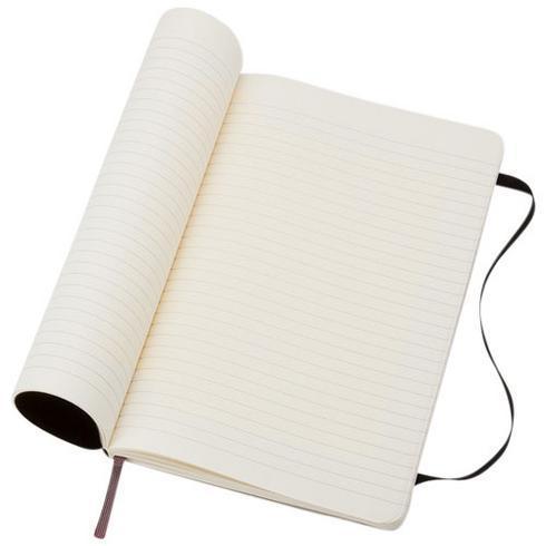 Classic L anteckningsbok med mjukt omslag – linjerad