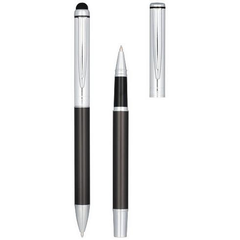 Vincenzo presentset med två pennor