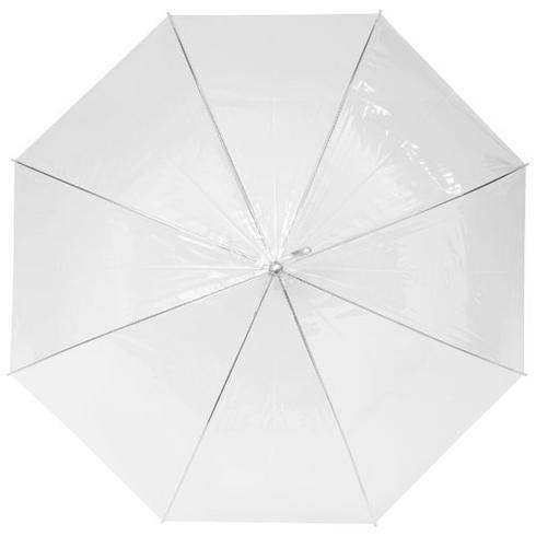 """Kate 23"""" transparent automatiskt paraply"""