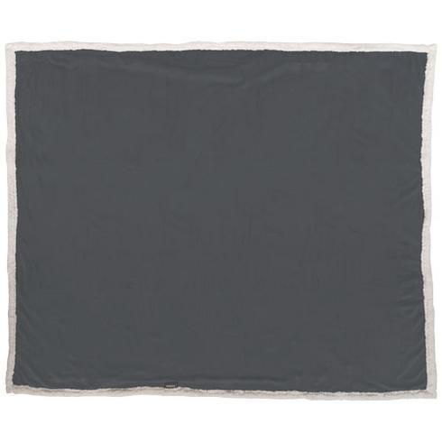 Lauren rutig filt i microplush och sherpafleece