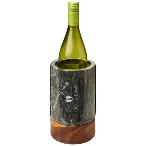 Harlow vinkylare i marmor och trä