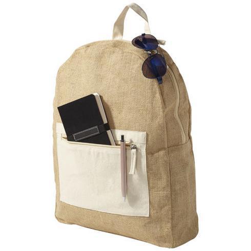 Jute ryggsäck