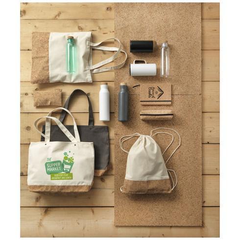 Napa 406 g / m² bomulls- och korkväska