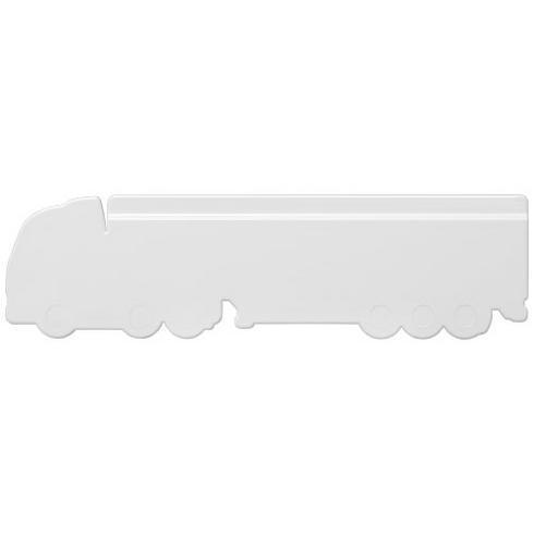 Loki 15 cm lastbilsformad plastlinjal