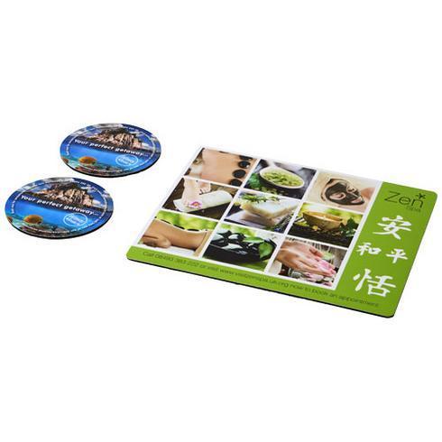 Q-Mat® Set 2 med musmatta och underlägg