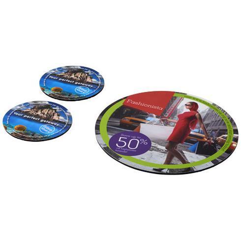 Q-Mat® Set 5 med musmatta och underlägg