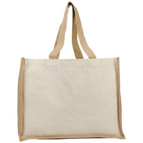 Varai 320 g/m² shoppingväska av kanvas och jute