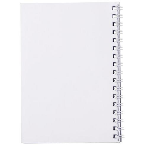 Desk-Mate® spiral A6 anteckningsbok PP-omslag