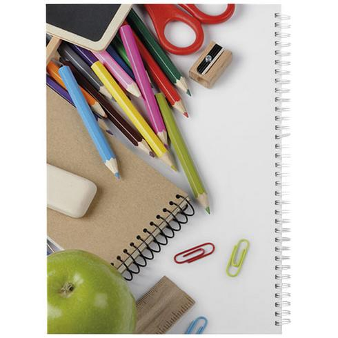 Wire-o A4 anteckningsbok med hårt omslag