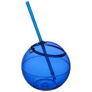 Fiesta 580 ml beverage ball with straw