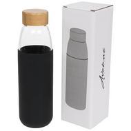 Kai 540 ml Sportflasche aus Glas mit Holzdeckel
