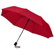 """Wali 21"""" foldbar paraply med automatisk åbning"""