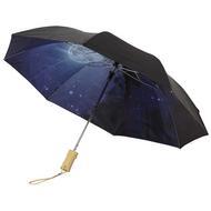"""Clear-night 21"""" foldable auto open umbrella"""