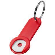 Shoppy sleutelhanger met munthouder