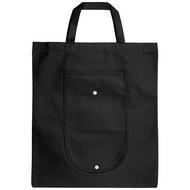 Maple buttoned foldable non-woven tote bag