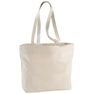 Ningbo 320 g/m² zippered cotton tote bag
