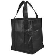 Savoy slash pocket laminated non-woven tote bag