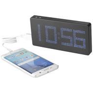PB 8000 mAh LED Display Powerbank mit Uhr