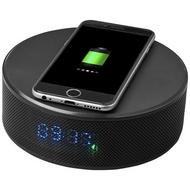 Circle wireless charging alarm clock speaker