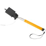 Wire extendable selfie stick