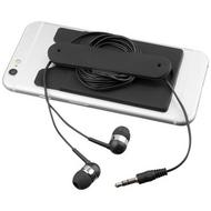 Wired-nappikuulokkeet ja puhelinkotelo, silikonia