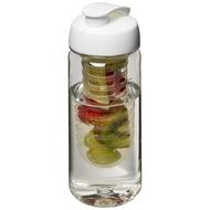 H2O Octave Tritan™ 600 ml sportflaska med öppningsbart lock och fruktkolv