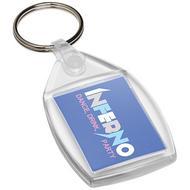 Porte-clés plastique P6 avec attache en métal Lita