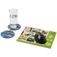 Q-Mat® mouse mat and coaster set combo 2