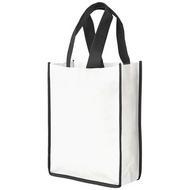 Petit sac shopping non tissé Contrast
