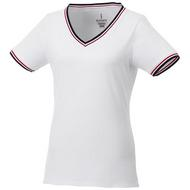 Elbert Piqué T-Shirt für Damen
