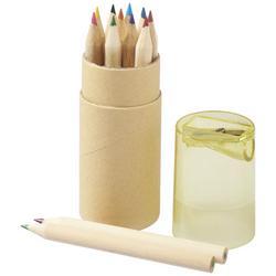 Hef 12-teiliges Buntstiftset mit Anspitzer