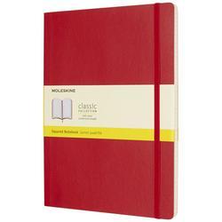 Classic XL -muistikirja, pehmeäkantinen - ruutu