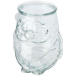 Nouel theelichthouder van gerecycled glas