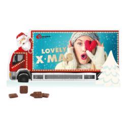 "System Adventskalender Standardformat ""Kerst truck"""