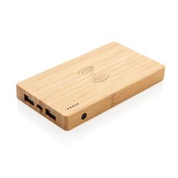 Bamboo 4.000 mAh wireless 5W Powerbank
