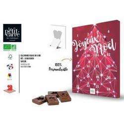 Calendrier de l'Avent chocolat au lait Gianduja Bio 60g