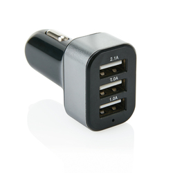 3.1A car charger with 3 USB