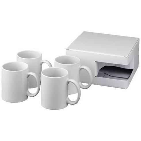 Ceramic-sublimaatiomuki, 4 kappaleen lahjapakkaus