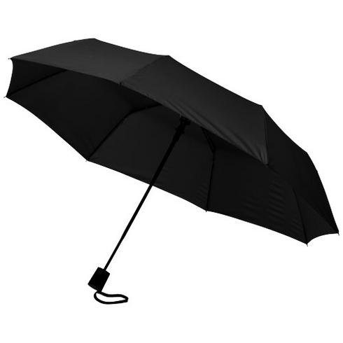 "Wali 21"" sammenleggbar automatisk paraply"