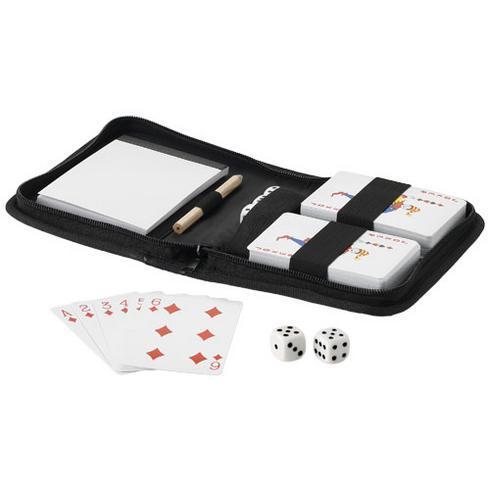 Tronx-pelikorttipakat pussissa