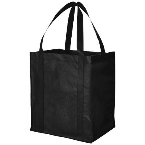 Liberty bottom board non-woven tote bag