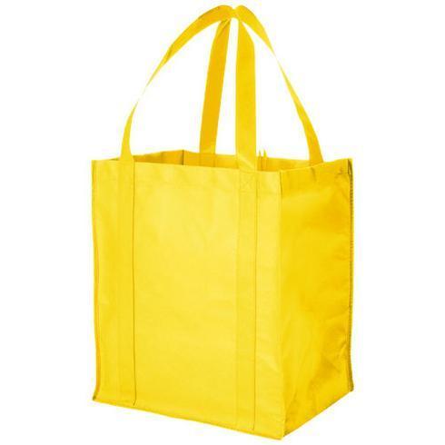 Liberty bottom board non-woven tote bag