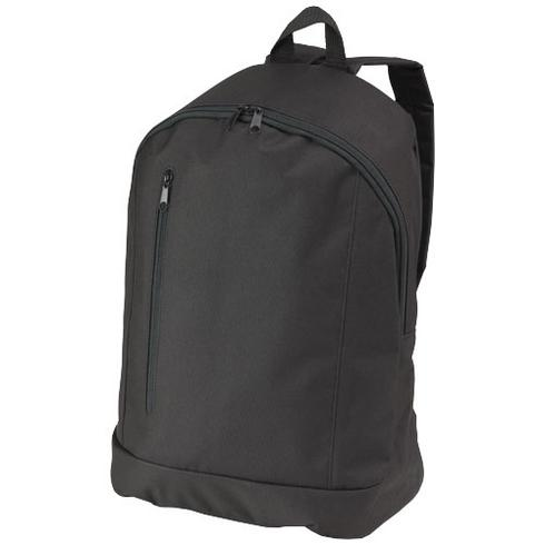 Boulder vertical zipper backpack