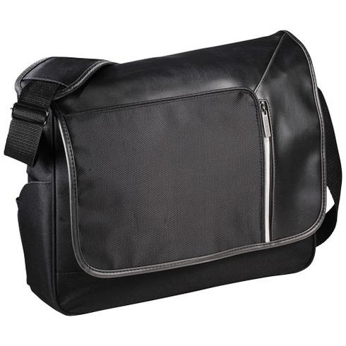"Vault 15.6"" laptop messenger with RFID secure pocket"