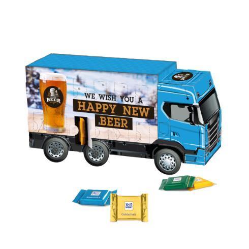 Adventskalender Truck LKW Ritter Sport
