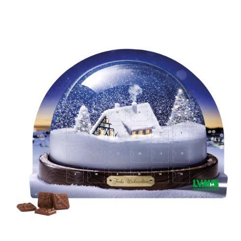 Calendrier de l'Avent Boule de Neige