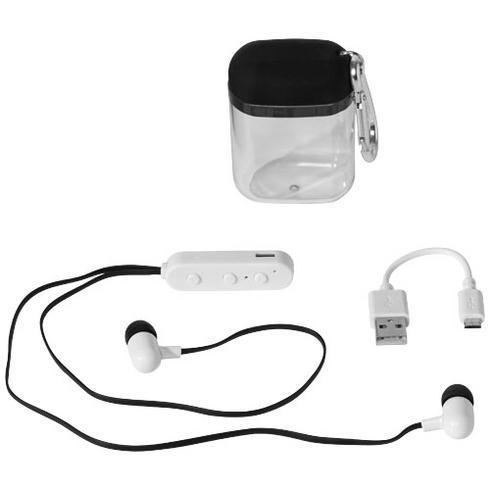 Budget Bluetooth® hörlurar med karbinfodral